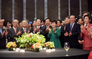 20150622 01 日韓国交記念行事の朴槿恵.jpg